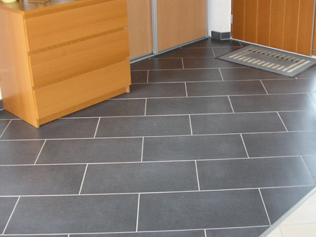 Un travail de carrelage parmis tant d autre for Pose carrelage en diagonale